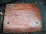 The piece of the hull the seat mounts to
