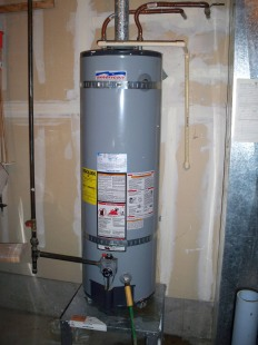 The bad water heater