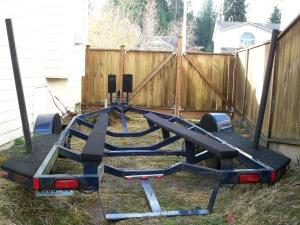 New bunk rails