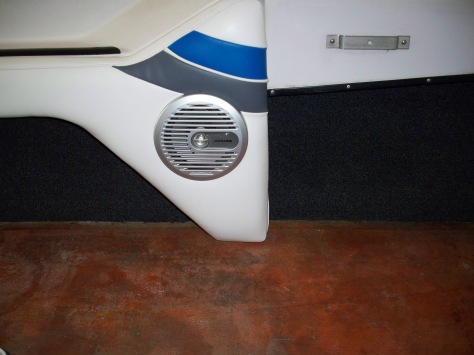 Starboard rear side carpet