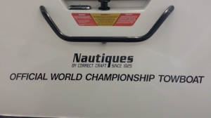 I love the words on the back of our boat