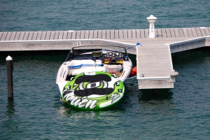 275HP and a soft flat competition wake